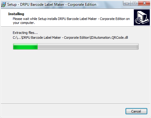 DRPU Barcode Software installation - HowToBarcode